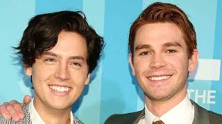 Cole Sprouse & KJ Apa STRIP DOWN In New