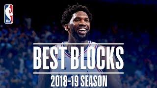 Joel Embiid's Best Blocks   2018-19 Season   #NBABlockWeek