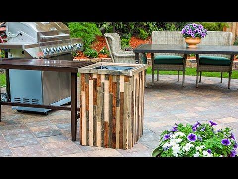 DIY Outdoor Trashcans - Home & Family