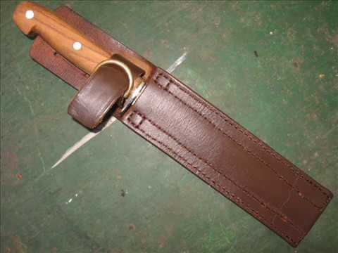 A Leather Sheath from an Old Belt