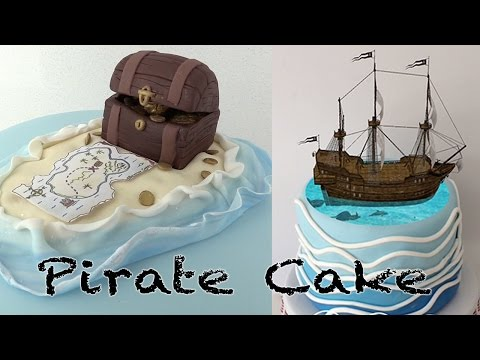 MAGIC PIRATE SHIP CAKE Ann Reardon How To Cook That