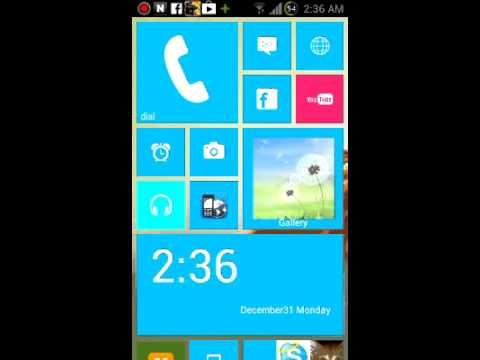 Windows 8 on my galaxy s2
