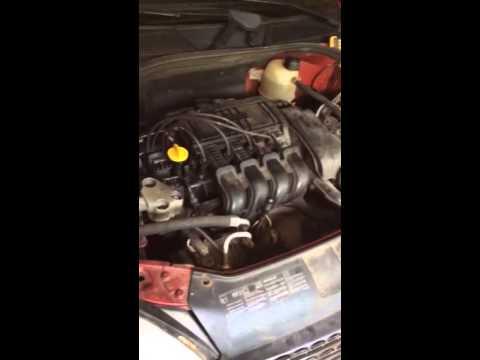 Renault Clio 1.2 16v 2002 Misfire Cylinder 1 & 4