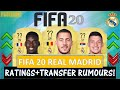FIFA 20 REAL MADRID PLAYER RATINGS FT HAZARD POGBA JOVIC ETC TRANSFER RUMOURS INCLUDED