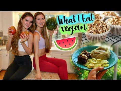 WHAT I EAT IN A DAY VEGAN + Healthy Snack Recipes!