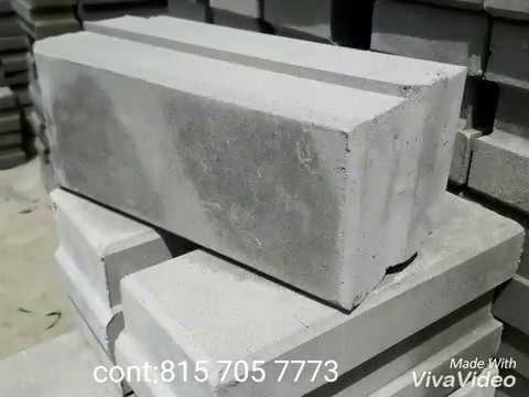 Fly ash based cement interlocking bricks