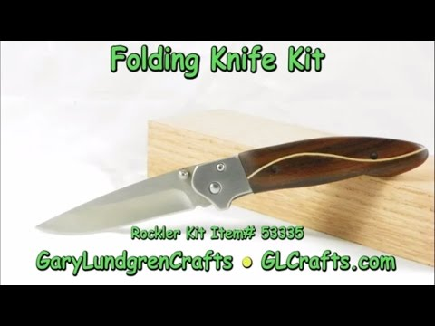 How To Make a Folding Knife Kit Ep.2016-40
