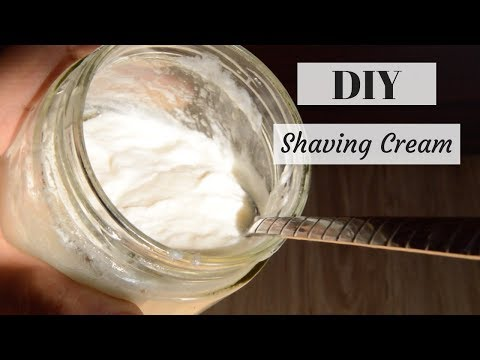 How To Make Shaving Cream At Home | Get Rid of Ingrown Hair