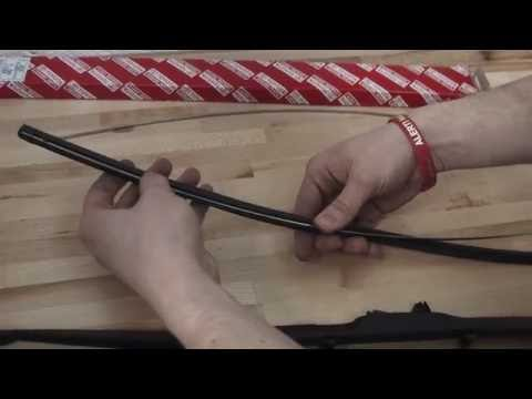 Toyota 'how to' - Change a wiper blade