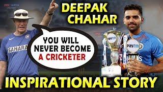 Deepak Chahar Inspirational Story 😭 | Hatrick in T20I | Greg Chappell | MS Dhoni