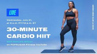 30-Minute Cardio HIIT With Danyele Wilson