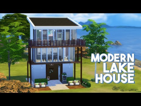 The Sims 4: Speed Build | Modern Lake House