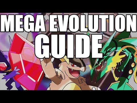 Pokemon Mega Evolution Guide Omega Ruby and Alpha Sapphire - Mega Evolution Discussion ORAS
