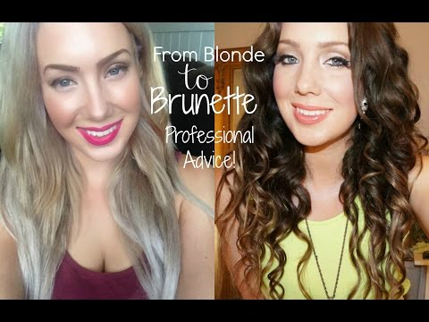 From Blonde to Brunette- THE RIGHT WAY | Jade Madden