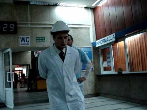 Instytut B-61: Zderzenie, Wstęp. Dworzec Łódź Fabryczna 3.10.2010