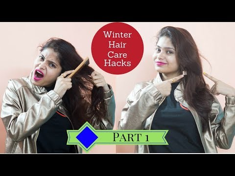 5 WINTER Hair Care Hacks Every Girl Should Know For Healthy, Shiny Hair/ Hair Care Tips & Routine