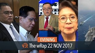 Sereno impeachment complaint, Peace Process canceled, Roque on human rights | Evening wRap