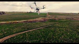 Drone nearly gets cut in half by a DJI Phantom 4 in sport mode!