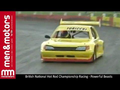 British National Hot Rod Championship Racing - Powerful Beasts