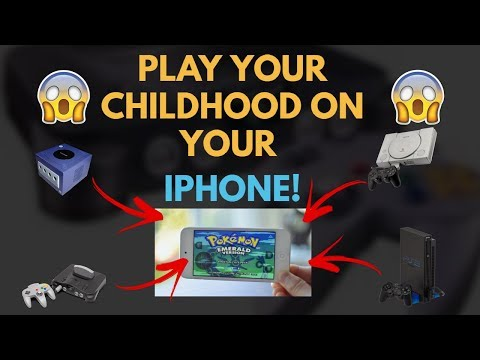 Get any DS, PS2, PS1 Game on IPHONE! ANY i0S! (NO JAILBREAK)