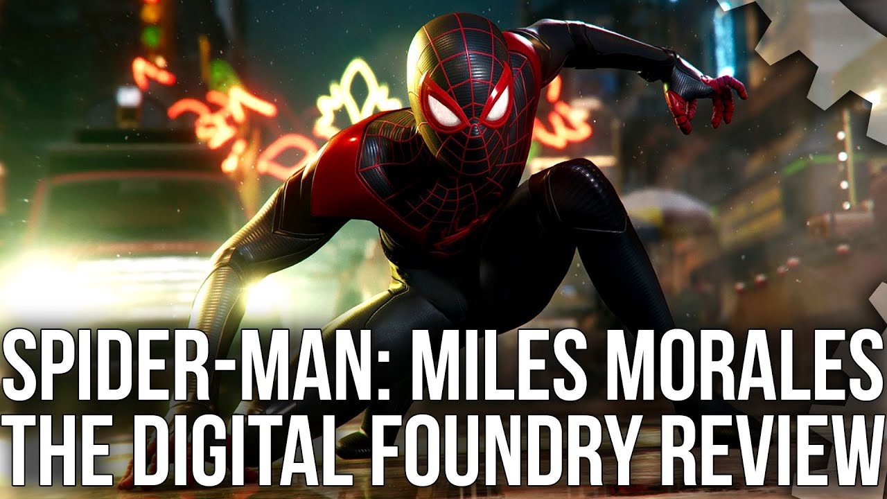 Marvel's Spider-Man: Miles Morales - Digital Foundry Tech Review - Welcome To The Next Generation