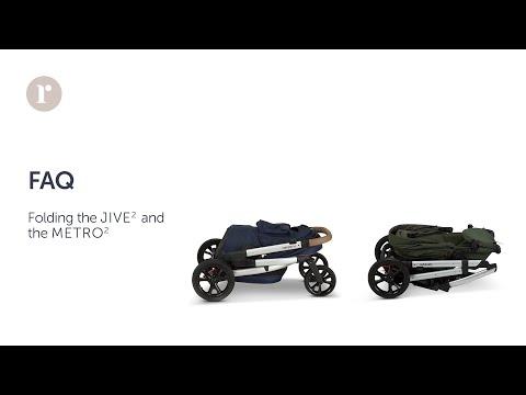 FAQ. How do I fold Redsbaby JIVE² / METRO² prams?