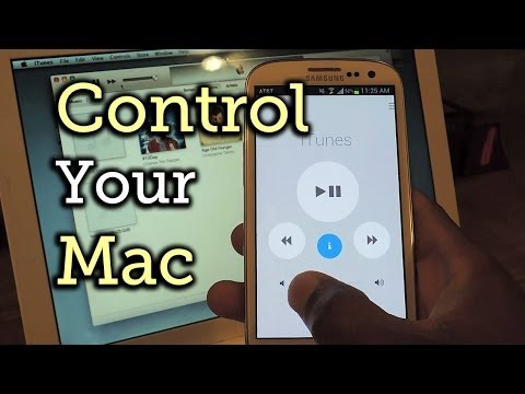 Control Your MacBook or Mac Desktop Using Your Samsung Galaxy S3 [How-To]