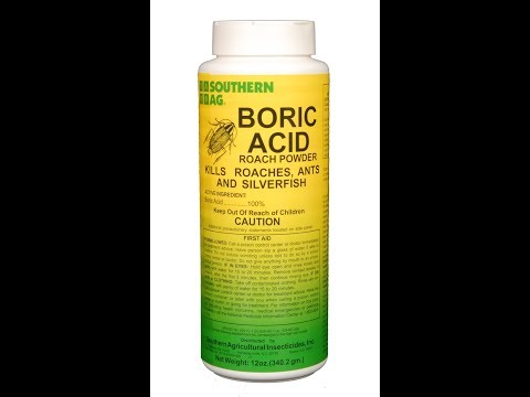 Boric Acid for effective, cheap pantry moth and sugar ant control