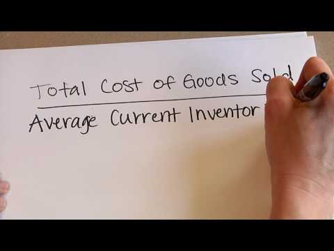 Business Calculations & Accounting : How to Calculate Inventory Turnover