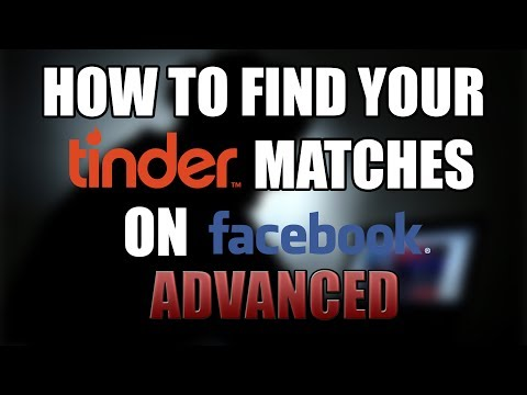 How to find your Tinder match on Facebook (advanced)