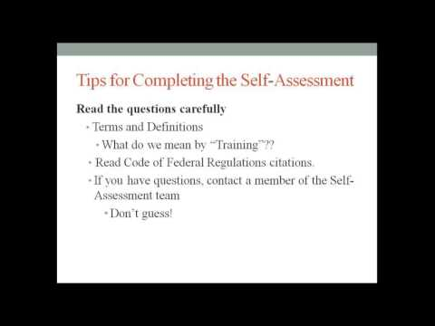 A How-To Guide for Completing NARA's Records Management Self-Assessment