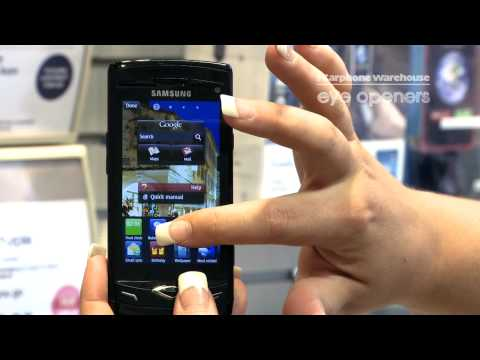 Samsung Wave: How to add and remove widgets to your home screens