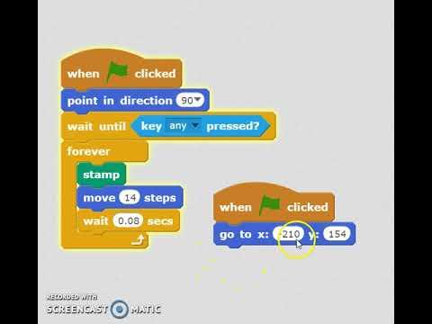 Coding Scratch Games: Snake 3 Snake Motion