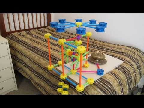 Tinkertoy Clock Escapement with Pinwheel