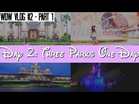 Walt Disney World Vlog: Day 2 - PART 1 Disney's Hollywood Studios & Epcot | June 2017