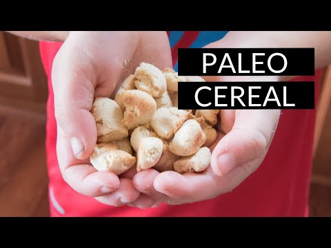 Pale-O's Cereal (gluten-free and Paleo cereal recipe)
