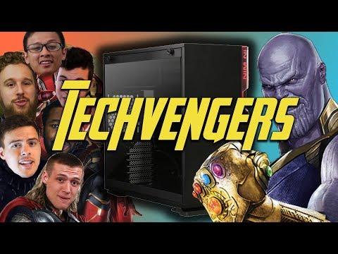 Techvengers - Infinity War PC Build Off!