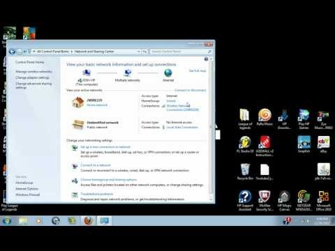 How To Connect To Xbox Live Through Windows 7 (HD) (Very Easy)