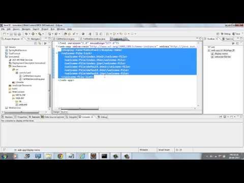 Creating Java web service using jax-ws and deploying on tomcat server