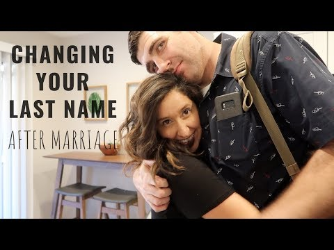 How To Change Your Name After Marriage