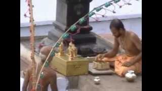 Aradhana of Sri Raghoothama Swamiji at Tirukoilur by Sri Satyatma Swamiji