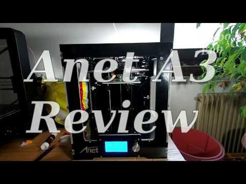 Anet A3 Hardware Review - Sub EN