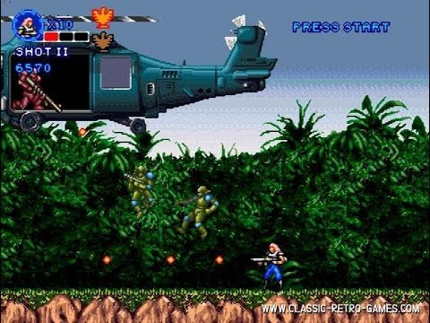The Contra Rambo Game 3a
