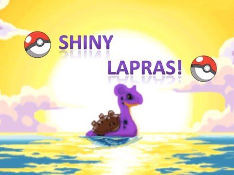Shiny Lapras in Pokemon SoulSilver!!!