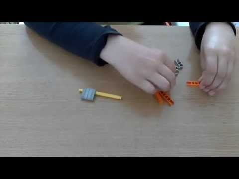 How to make a mini and simple knex gun
