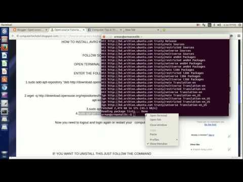 How To Install Avro Keyboard in Ubuntu | Ubuntu 14.04
