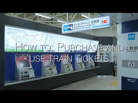 How to Purchase and Use Train Tickets - LIVE JAPAN