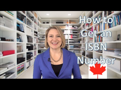How to Get an ISBN Number in Canada