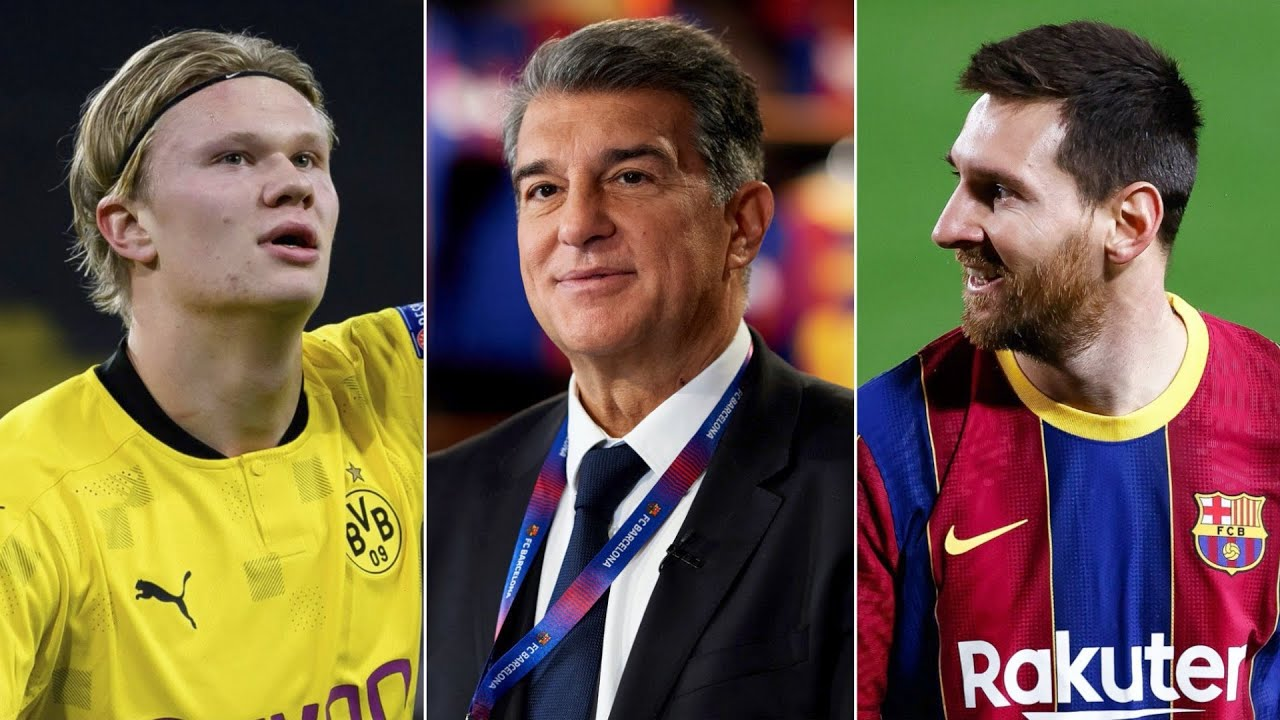 Barcelona News Round-Up ft Laporta's Plans: Messi's Future, Erling Haaland & La Masia