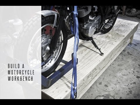Build a Motorcycle Workbench